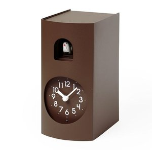 鳩時計 カッコークロック 置き掛け兼用 Lemnos レムノス Bockoo ブラウン GF17-04BW|cecicela