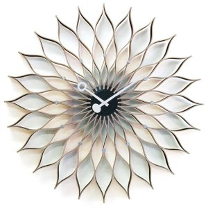 Sunflower  掛け時計 サンフラワークロック GN304  ジョージネルソン 壁掛け時計|cecicela
