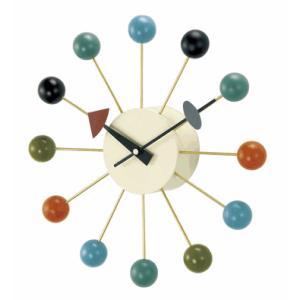 掛け時計 BALLクロック カラー GN397C  ジョージネルソン|cecicela