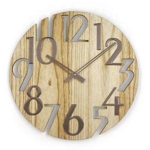 新なデザインで壁面を飾る 掛け時計   ジョージネルソン  GN215NT  プラタナス |cecicela