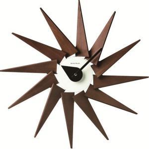 掛け時計 Turbine Clockエスプレッソ GN320ESP ジョージネルソン|cecicela