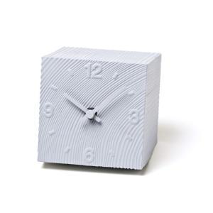 Lemnos レムノス 置き時計 cube KAZ10-17GY|cecicela