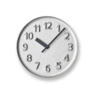Lemnos レムノス掛け時計  KK15-08AL  アルミニウム Founder Clock アルミ|cecicela