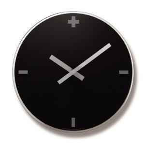Lemnosレムノス掛け時計 FLOW ブラック LC06-16BK φ400 cecicela