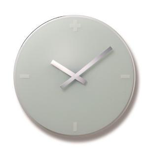 Lemnosレムノス掛け時計 FLOW ホワイト LC06-16WHφ400 cecicela