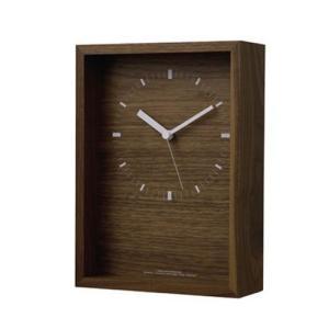 Lemnos レムノス掛け時計 oblong  LC07-07LBW|cecicela