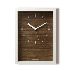 Lemnos レムノス掛け時計 oblong  LC07-07LWH|cecicela