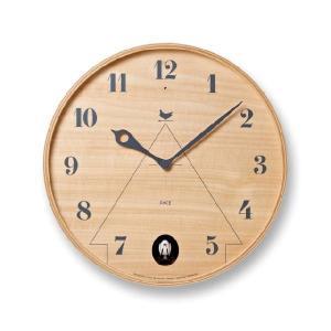 鳩時計 はと時計 レムノス掛け時計  パーチェ  LC11-09NT|cecicela