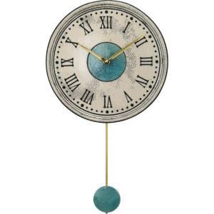 振り子時計 アントニオ・ザッカレラ 陶器  Antonio Zaccarella   ZC121-003  掛け時計 送料無料 お洒落 ギフト 壁掛け時計|cecicela