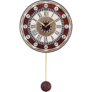 振り子時計 アントニオ・ザッカレラ 陶器 ZC135-001 送料無料 掛け時計 お洒落 ギフト|cecicela