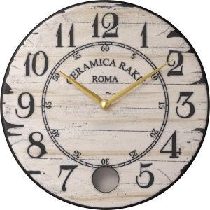 振り子時計 アントニオ・ザッカレラ 陶器 ZC912-003 掛け時計 送料無料 お洒落 ギフト 壁掛け時計|cecicela