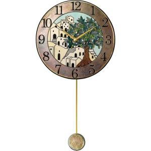 振り子時計 ザッカレラZ945  アントニオ・ザッカレラ 陶器 ZC945-005 送料無料 お洒落 ギフト 壁掛け時計|cecicela