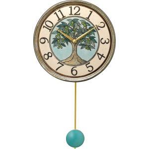 振り子時計 ザッカレラZ947  アントニオ・ザッカレラ 陶器  ZC947-004 送料無料 お洒落 ギフト 壁掛け時計|cecicela