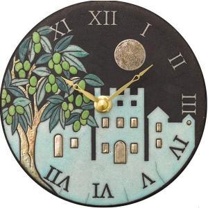 置き掛け兼用時計 ザッカレラZ955-004  アントニオ・ザッカレラ 陶器  ZC955-004 送料無料 お洒落 ギフト 壁掛け時計|cecicela