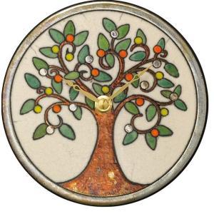 置き掛け兼用時計 ザッカレラZ961  アントニオ・ザッカレラ 陶器  ZC961-003 送料無料 お洒落 ギフト 壁掛け時計|cecicela