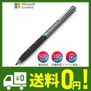 マイクロソフト認証 Heiyo Surfaceペン 1024段階をサポート 500時間連続使用&18...
