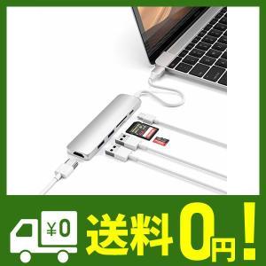 Satechi V2 スリム マルチ USBハブ Type-C 4K HDMI, カードリーダー, ...