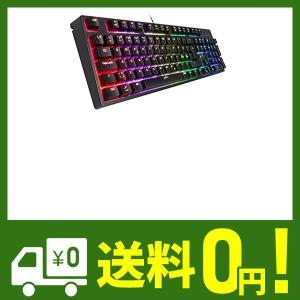 Xtrfy(エクストリファイ)K3-RGB 英語配列 Mem-カニカル(赤軸タイプ)ゲーミングキーボ...