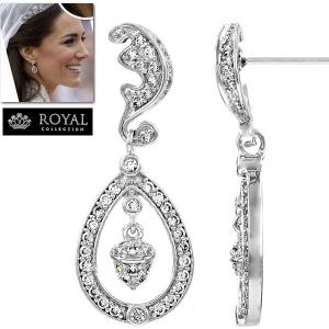 ブライダル ピアス キャサリン妃 ウエディング ケイト ミドルトン コレクション|celeb-cz-jewelry