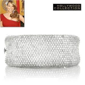 ブライダル ブレスレット ダイヤモンド マイクロパヴェ マライア キャリー コレクション|celeb-cz-jewelry
