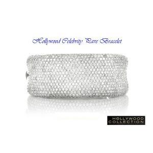 ブライダル ブレスレット ダイヤモンド マイクロパヴェ マライア キャリー コレクション|celeb-cz-jewelry|03