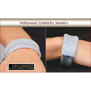 ブライダル ブレスレット ダイヤモンド マイクロパヴェ マライア キャリー コレクション|celeb-cz-jewelry|06