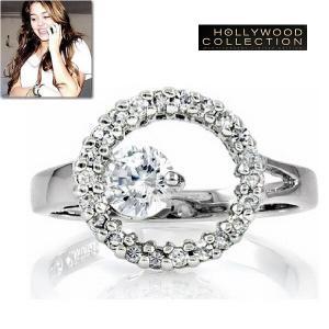 リング ダイヤモンド シンプル エレガンス マイリー サイラス コレクション|celeb-cz-jewelry