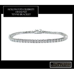 ブレスレット ダイヤモンド 3mm テニスブレスレット ペネロペ  クルス コレクション celeb-cz-jewelry 03