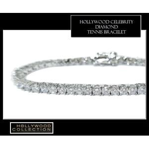 ブレスレット ダイヤモンド 3mm テニスブレスレット ペネロペ  クルス コレクション celeb-cz-jewelry 04