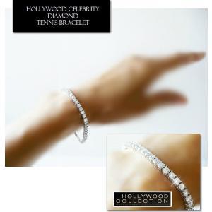 ブレスレット ダイヤモンド 3mm テニスブレスレット ペネロペ  クルス コレクション celeb-cz-jewelry 05