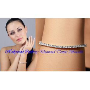 ブレスレット ダイヤモンド 3mm テニスブレスレット ペネロペ  クルス コレクション celeb-cz-jewelry 08