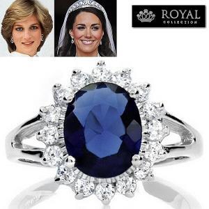 キャサリン妃ケイトミドルトンのサファイア婚約指輪は英国王室を象徴するエンゲージリングです。深いロイヤ...