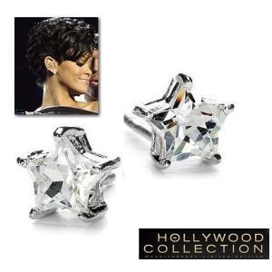 ピアス ダイヤモンド 星 スター レトロ アールデコ リアーナ コレクション|celeb-cz-jewelry