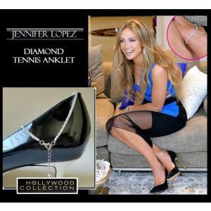 アンクレット レディース ダイヤモンド テニスアンクレット ジェニファー ロペス コレクション|celeb-cz-jewelry|02