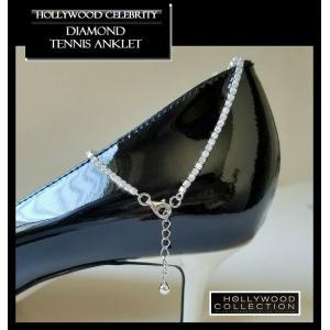 アンクレット レディース ダイヤモンド テニスアンクレット ジェニファー ロペス コレクション|celeb-cz-jewelry|04