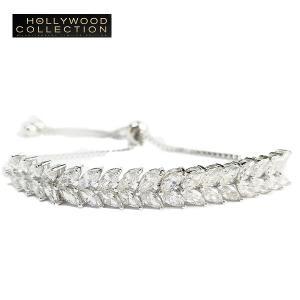 ブレスレット アンクレット ダイヤモンド リーフ ハリウッド セレブ コレクション celeb-cz-jewelry