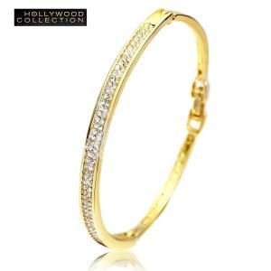 バングル ブレスレット 18金 ゴールド パヴェ ダイヤモンド ミランダ カー コレクション celeb-cz-jewelry 03