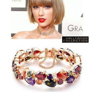 ブレスレット テイラー スウィフト グラミー賞 コレクション|celeb-cz-jewelry