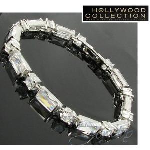 ブレスレット ダイヤモンド プリンセス テニスブレスレット ハリウッド コレクション|celeb-cz-jewelry