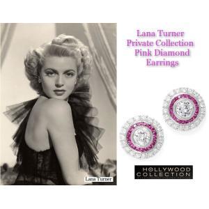 ピアス ピンクダイヤモンド レトロ アールデコ ラナ ターナー コレクション|celeb-cz-jewelry|06