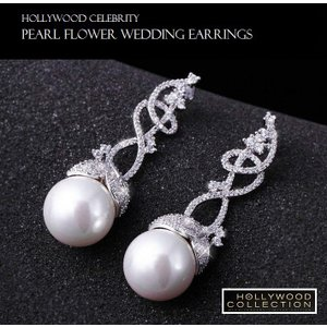 パールピアス 真珠 揺れる 大粒 15mm 結婚式 パーティ レトロ アールデコ ビヨンセ コレクション|celeb-cz-jewelry|03