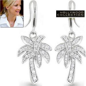 ネックレス セット やしの木 パームツリー パヴェ ケイト ハドソン コレクション|celeb-cz-jewelry