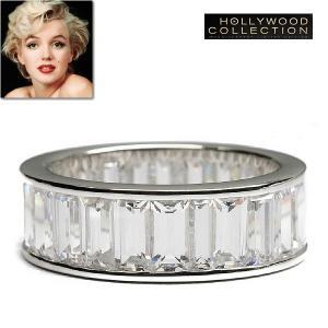 リング ダイヤモンド エタニティ 結婚記念日 マリリン モンロー プライベート コレクション|celeb-cz-jewelry