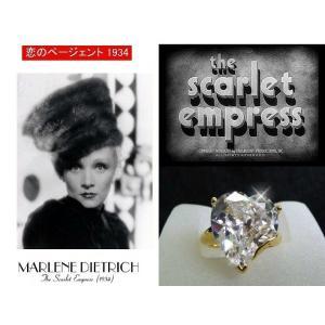 リング ダイヤモンド ハート 18金「恋のページェント」マレーネ ディートリッヒ コレクション|celeb-cz-jewelry|02