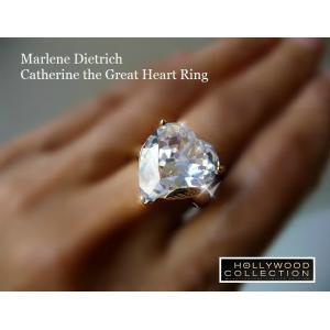 リング ダイヤモンド ハート 18金「恋のページェント」マレーネ ディートリッヒ コレクション|celeb-cz-jewelry|04