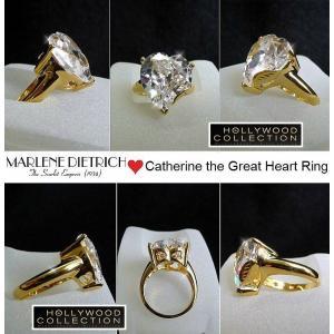 リング ダイヤモンド ハート 18金「恋のページェント」マレーネ ディートリッヒ コレクション|celeb-cz-jewelry|05