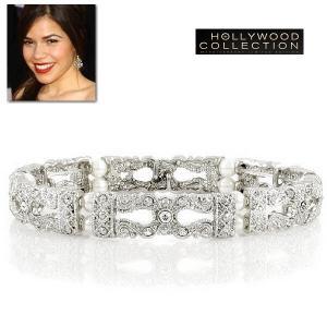 ブレスレット パール 真珠 ヴィンテージ アメリカ・フェレーラ コレクション|celeb-cz-jewelry