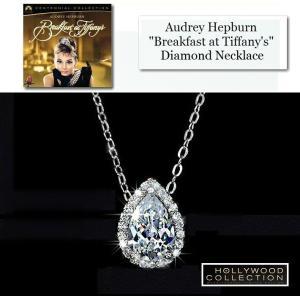 ネックレス ダイヤモンド ティアドロップ ネックレス|「ティファニーで朝食を」オードリー ヘップバーン コレクション|celeb-cz-jewelry|03