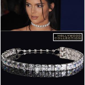 チョーカー ウエディング ネックレス ダイヤモンド ケンダル ジェンナー コレクション|celeb-cz-jewelry