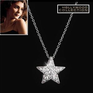 ダイヤモンド ネックレス 星 スター パヴェ ハリウッド コレクション|celeb-cz-jewelry